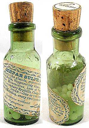 Old homeopathic remedy, Hepar sulph.